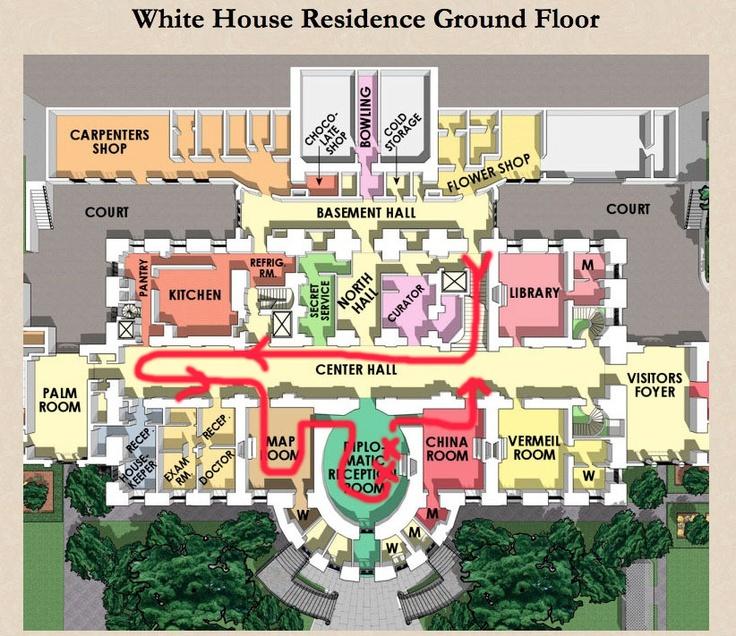 White House Interavtive Tour