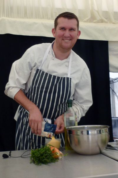 Chris Hanson, Blend – Sheffield company promotes the power of food