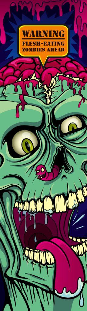 ☆ Spooky Bookmark -::- By Castro Illustrates ☆
