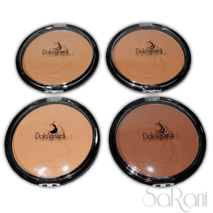 Terra Abbronzante Viso Polvere Pressata Maxi 4 Tonalità Makeup Dolci Sguardi