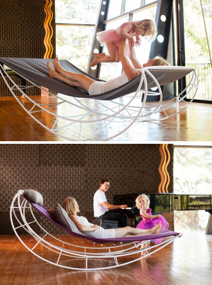 Furniture Ideas   14 Awesome Modern Rocking Chair Designs // This Lounge Rocking  Chair Lets