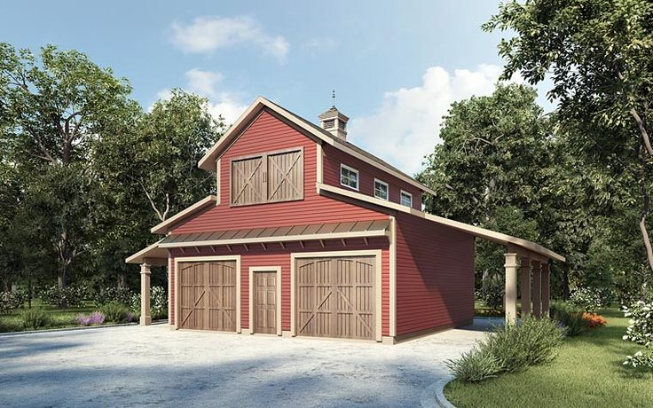 Garage Plan 58286 | Plan, 2 Car Garage