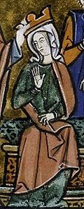 Melisende (1105 – 11 September 1161) was Queen of Jerusalem from 1131 to 1153, and regent for her son between 1153 and 1161 while he was on campaign. She was the eldest daughter of King Baldwin II of Jerusalem, and the Armenian princess Morphia of Melitene. As the eldest child, Melisende was raised as heir presumptive. She married Fulk of Anjou. In 1144 the Crusader state of Edessa was besieged in a border war that threatened its survival. Queen Melisende responded by sending an army.