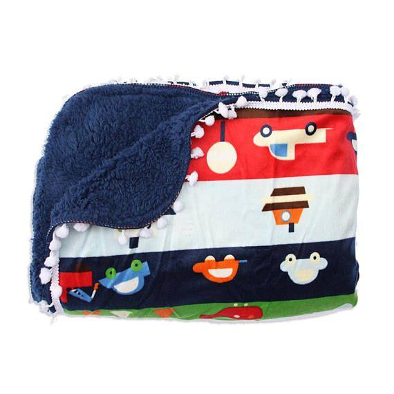 Fleece blanket Baby soft fleece fabric blanket luxury throw blanket Cars nursery blanket newborn fleece blanket Baby warm handmade quilt