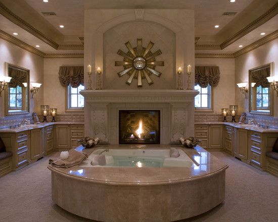 best 25+ bathroom fireplace ideas on pinterest | dream bathrooms