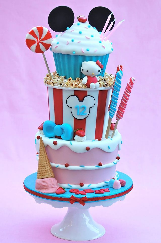 Cake Ideas For Frozen Using Giant Cupcake Mold
