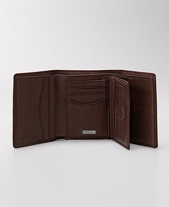 Fossil Wallet, Midway Leather Trifold Wallet - Mens Belts, Wallets & Accessories - Macy's