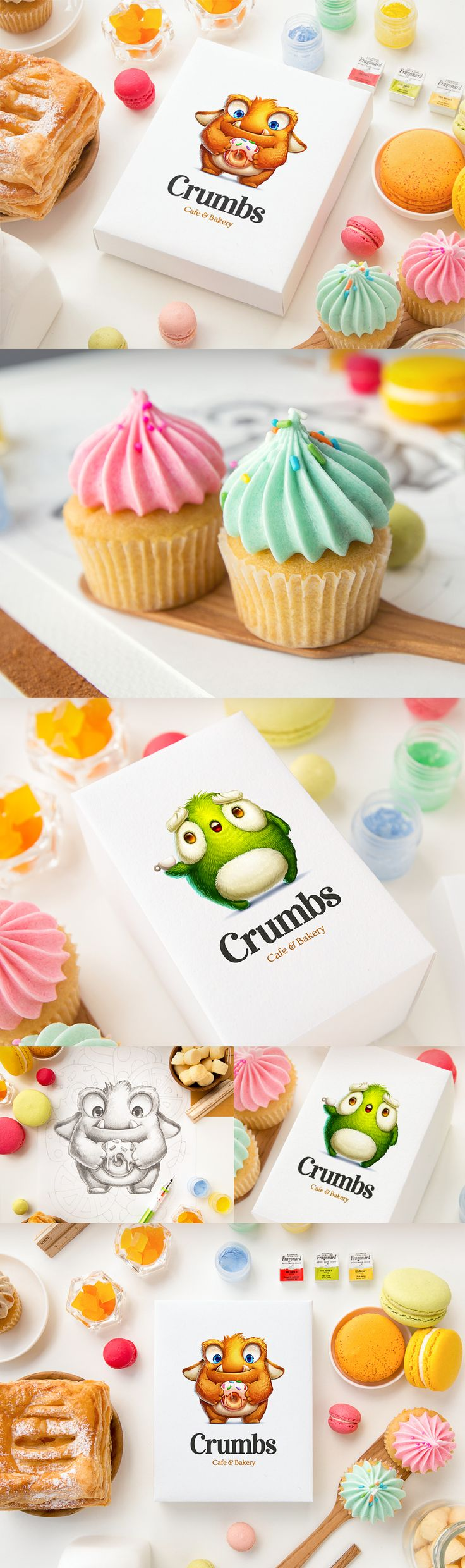 Crumbs characters another packaging cutie by Mike at Creative Mints PD