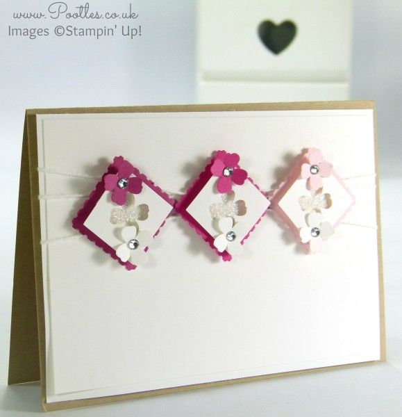 Stampin' Up! Demonstrator Pootles - Itty Bitty Inchies Aperture Card
