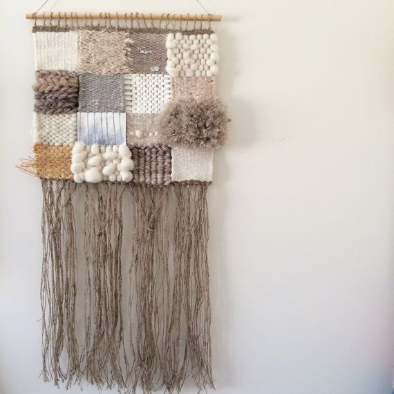 Woven wall hanging, MEDIUM tapestry, weaving - 'Penelope' by Tat Georgieva