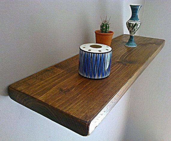 Floating Shelves, Wooden Shelves, Wall Shelf - Royal Oak - ** FREE UK DELIVERY **