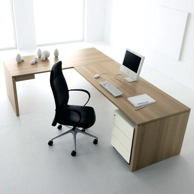 L Shaped Office Desk Modern Furniture Design Modern Desk Design