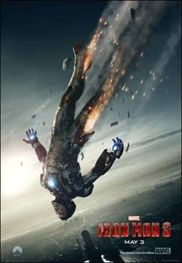 New Iron Man 3 Poster and a Sneak Peek of Sunday's Preview on http://www.5minutesformom.com