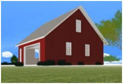 132 best images about barn plans outbuildings on for Design your own garage plans free