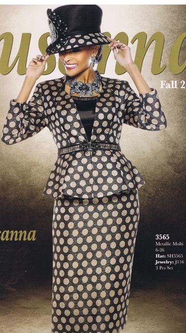 Susanna Designer Womens Suit Style 3565