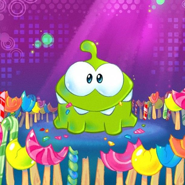 Cut The Rope - Om Nom Eating Candy