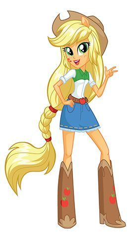 imagen de my little pony equestria girl applejack - Buscar con Google