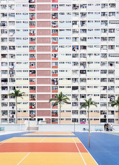 How to get to Choi Hung Estate car park basketball court for Instagram photography in Hong Kong, petite fashion blog