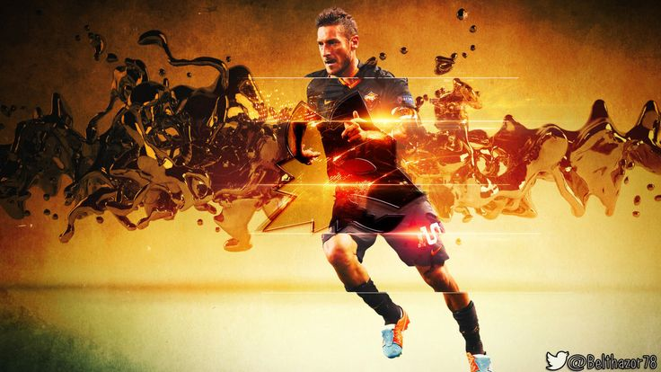 Francesco Totti Wallpaper by Belthazor78.deviantart.com on @DeviantArt