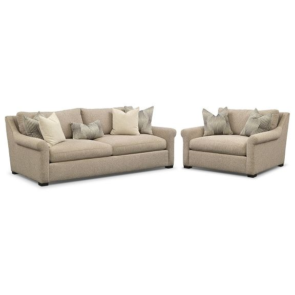 The Robertson Comfort Living Room Collection | Value City Furniture