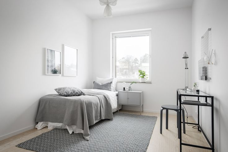 Bright white home decorated with natural tints via Krone Kern