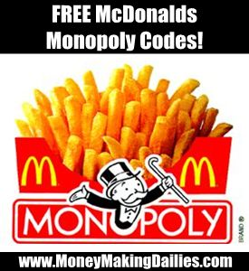 Great guide to the McDonalds Monopoly game 2013 including free codes and rare game pieces list! Very helpful!