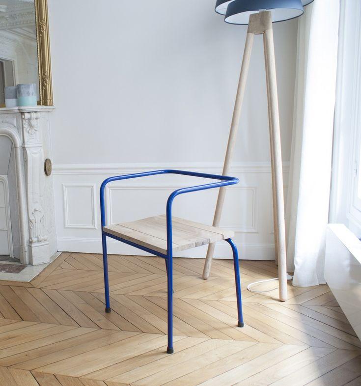 Delightful Chaise Beau Pain Par Laurent Gourier Chez VYRILE. Wood ChairsParis ... Ideas