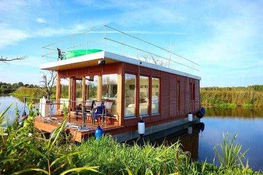 Hausboot Floßtour Peene Mecklenburg-Vorpommern Demmin Kummerow Kummerower See raft houseboat © Hugo