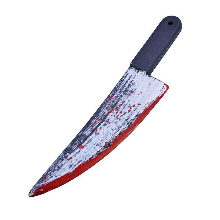 fancydressvip - Blood Splattered Knife Cleaver (49cm), £6.99 (http://www.fancydressvip.com/halloween/halloween-accessories/blood-splattered-knife-cleaver-49cm/)