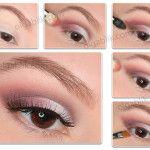 Пошаговый макияж глаз для нависших век. Легко и просто!)