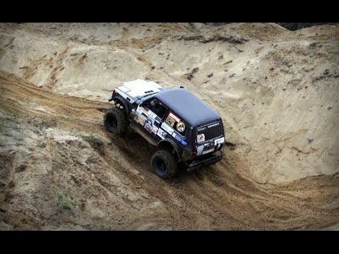 Toyota, Нива, песчаный карьер, Артёмовские луга