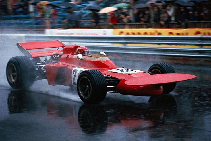 Skip Barber, Gene Mason Racing, March 711 Ford