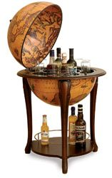 Renaissance old world globe bar $599   So cool...don't like the price tag though.