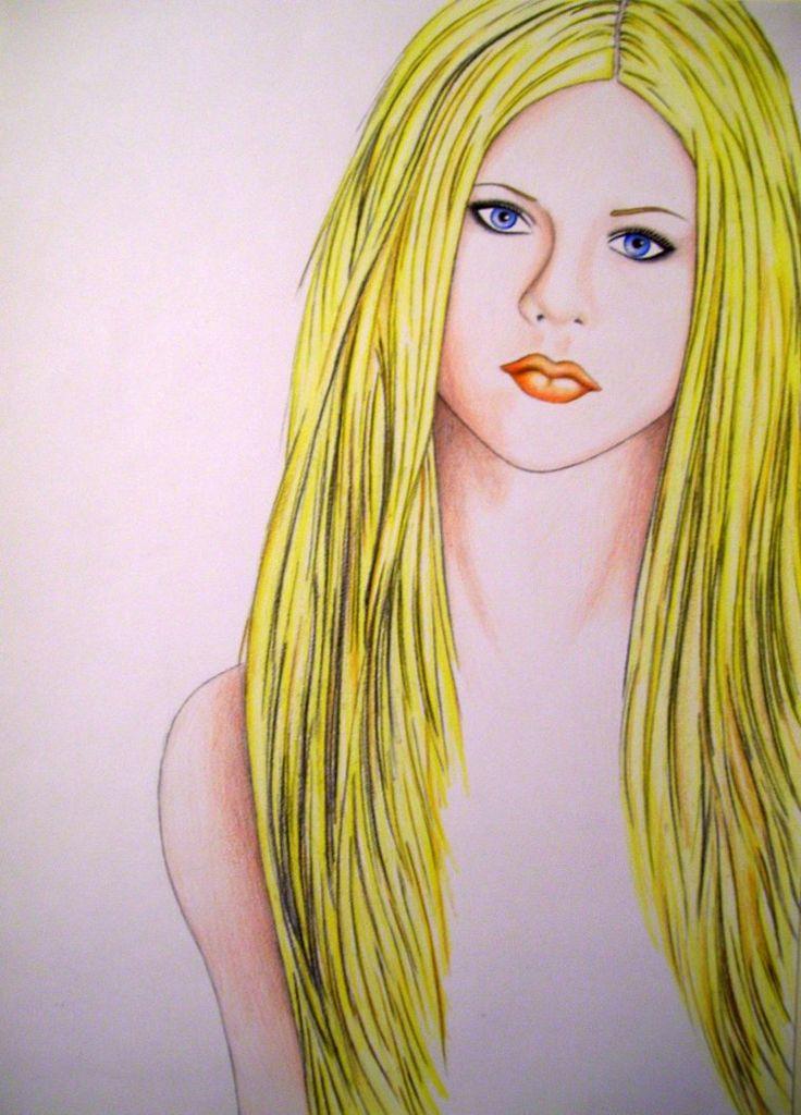 Avril Lavigne by AquaticOcean on DeviantArt