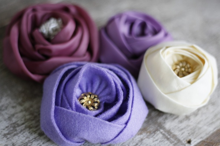 Fabric Flower Tutorial | Flower Making Tutorials #diy #fabricflowertutorial #tutorial #diywedding #diyweddings #doityourself #wedding #weddings