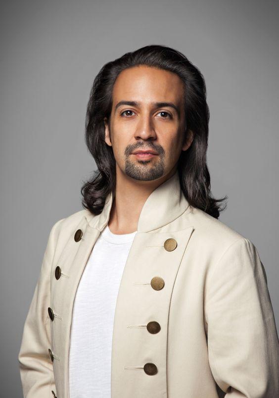 Lin-Manuel Miranda as Alexander Hamilton... Those luscious locks are gone now 😞