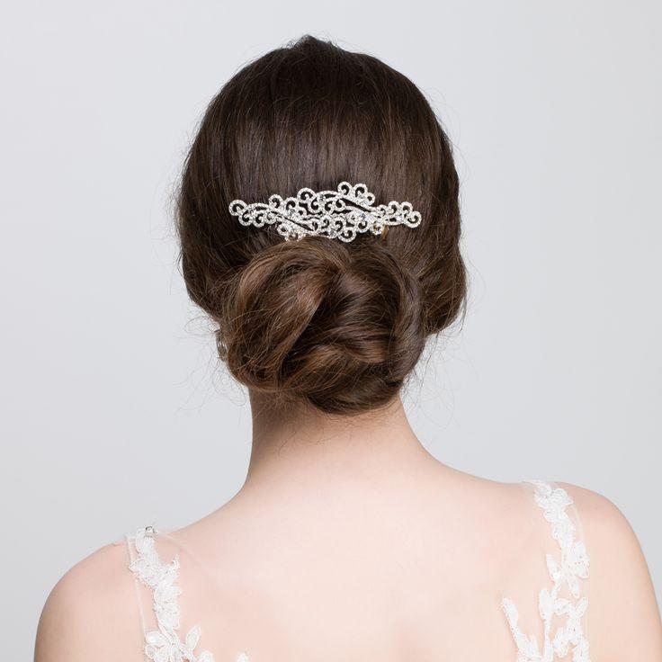 Diamantu00e9 Art Deco Hair Combs | Lily Luna | Wedding Accessories | Edinburgh Scotland | Hair ...