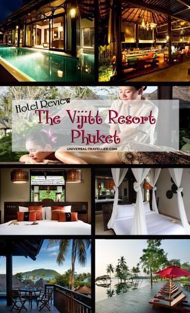 Luxury Hotel Review The Vijitt Resort Phuket, Thailand