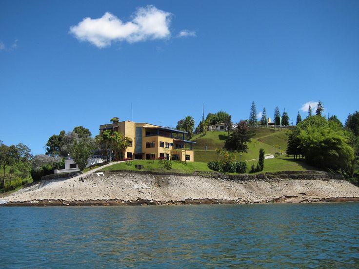 pablo escobar bought this house for his mother.