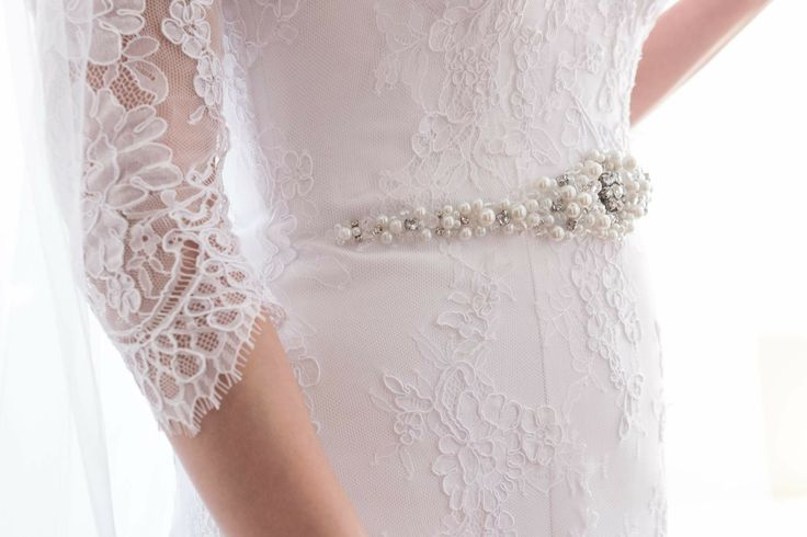 Bridal dress belt made for my friend