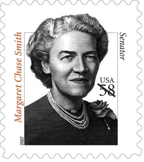 On September 13, 1948, Margaret Chase Smith became the first Republican woman elected to the U.S. Senate. At that time, having already served in the House of Representatives, she also became the first woman to serve in both houses of Congress.