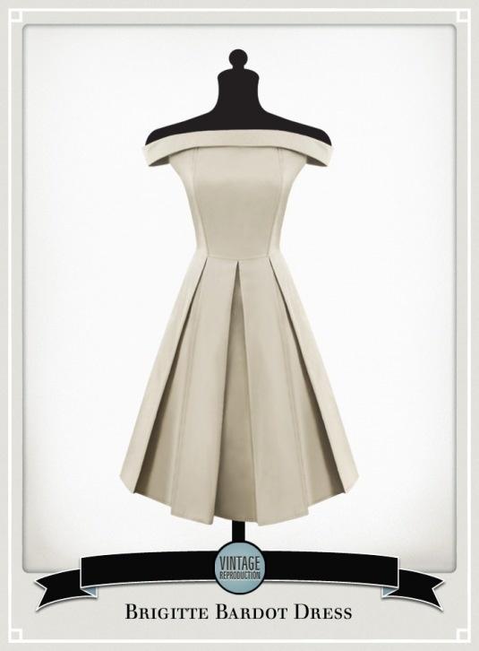 Brigitte Bardot Dress - Our Vintage House