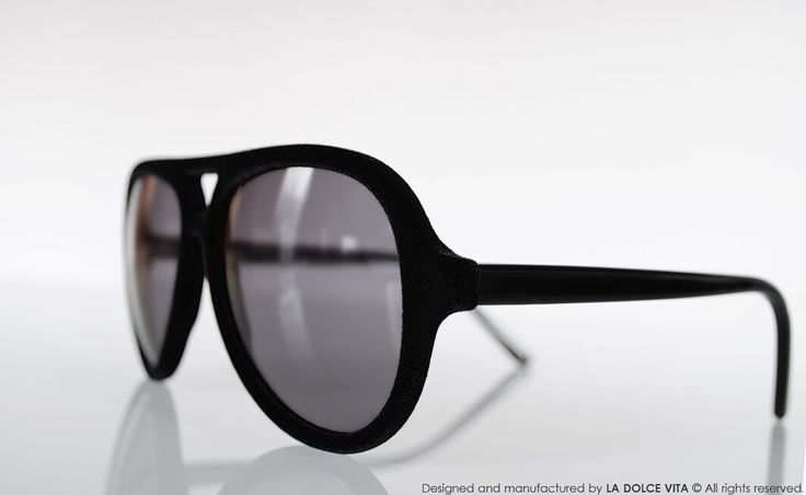 Limited edition - 100% Made in Italy. Designed and manufactured by La Dolce Vita Srl. #LaDolceVita #Velvet #Sunglasses
