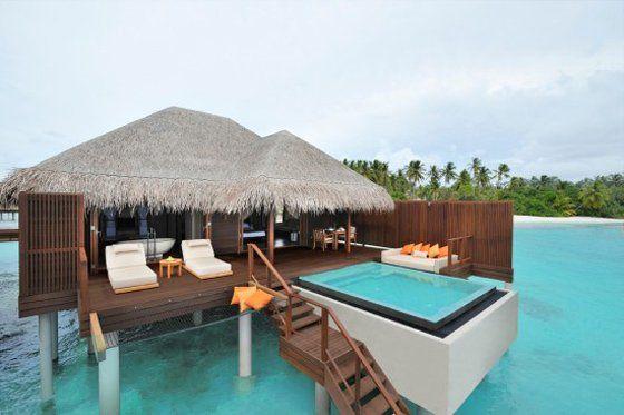malediven wasserbungalow im malediven reisef hrer http. Black Bedroom Furniture Sets. Home Design Ideas