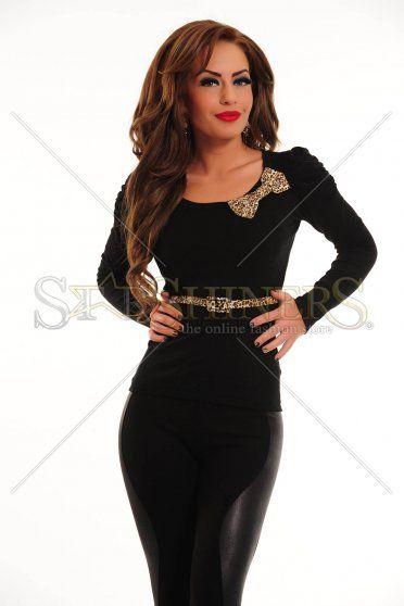 Bluza Leopard Joy Black
