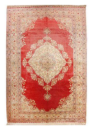 Hereke Seide Teppich Türkei 342 x 225 cm