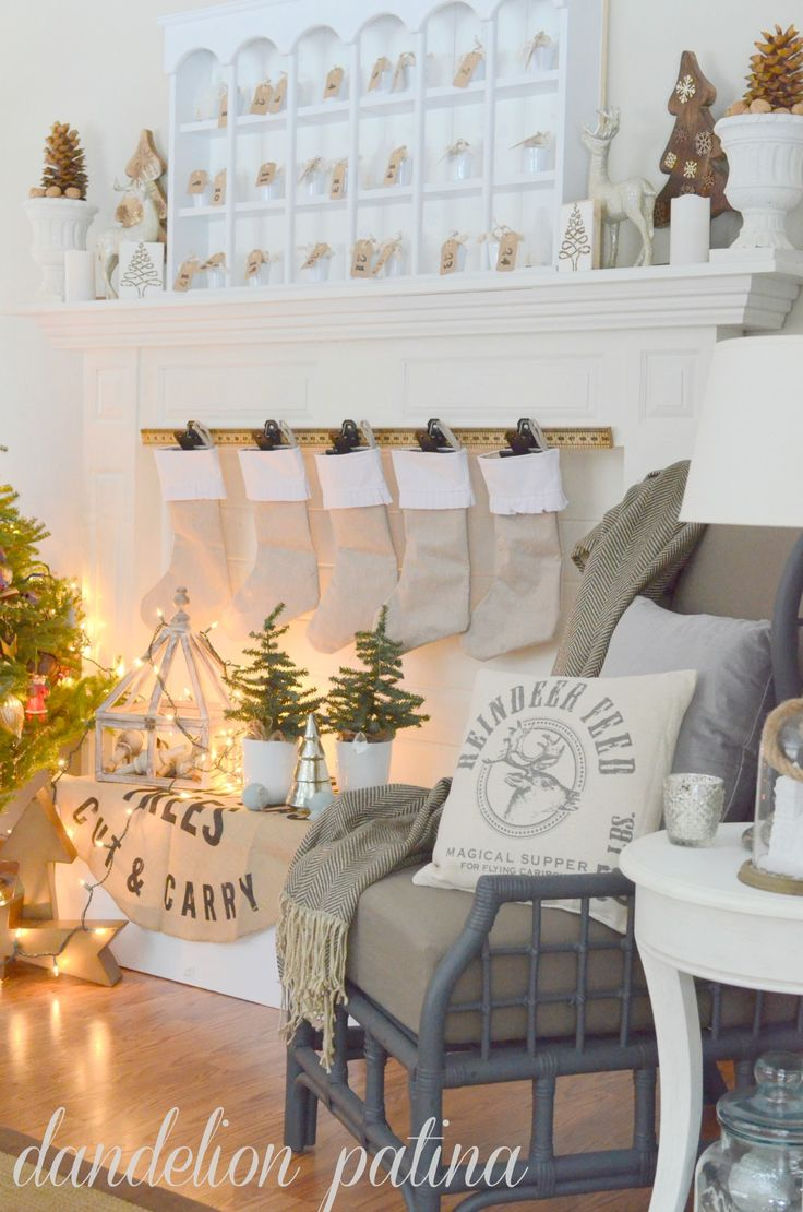 324 best christmas mantels images on pinterest | christmas ideas