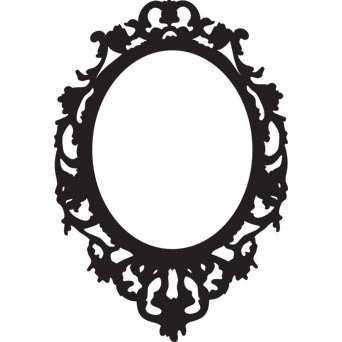 Best 25 cadre baroque ideas only on pinterest cadre for Miroir baroque noir