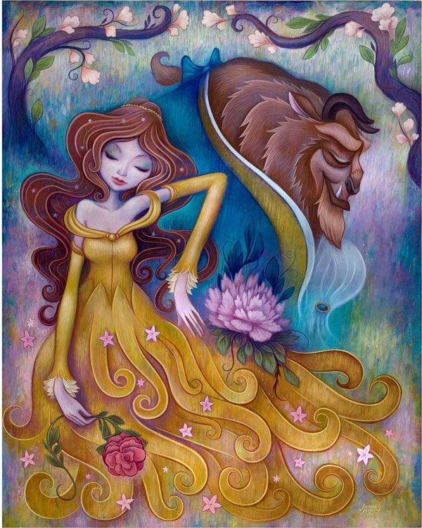 186 Best Images About Disney Beauty And The Beast Art On