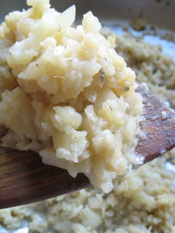 Cauliflower risotto - easy to make and just 6 ingredients
